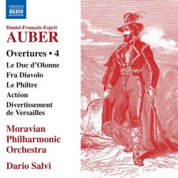 Cover Auber: Overtures, Vol. 4