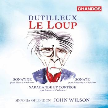 Cover Dutilleux: Le Loup & Other Works