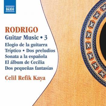 Cover Rodrigo: Guitar Works, Vol. 3