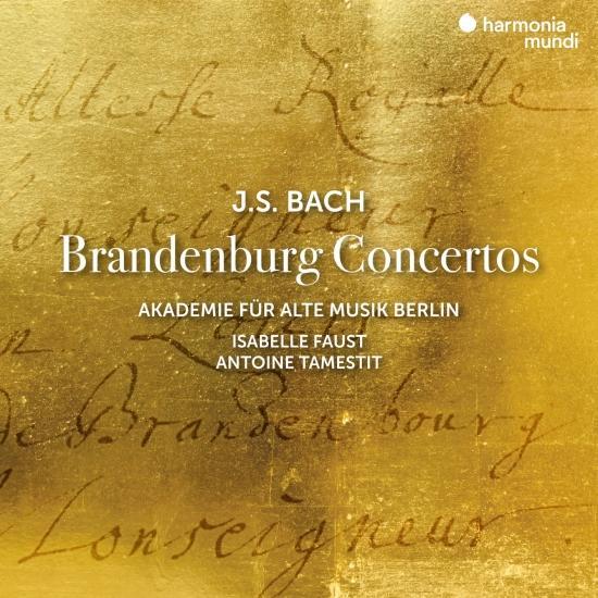 Cover J.S. Bach: Brandenburg Concertos