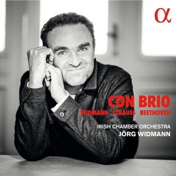 Cover Widmann, Strauss & Beethoven: Con brio