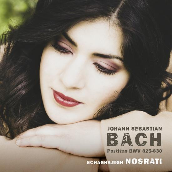 Cover J.S. Bach: Partitas, BWV 825-830