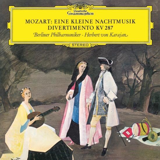 Cover Mozart: Serenade In G, K:525 'Eine kleine Nachtmusik'; Divertimento No.15 In B Flat Major, K.287 (Remastered)