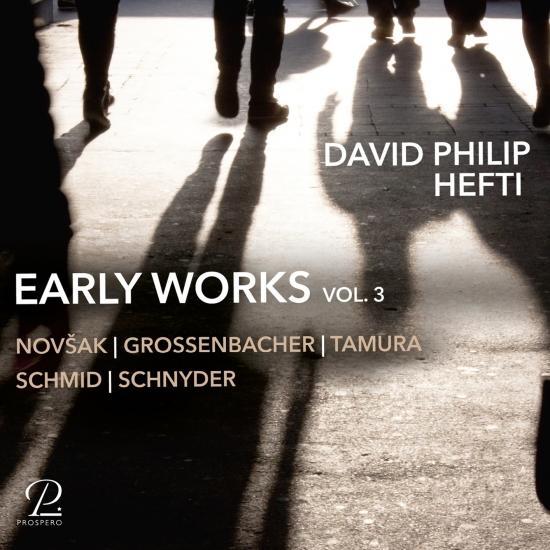 Cover David Philip Hefti: Early Works, Vol. 3