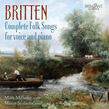 Cover Britten: Complete Folk Songs for Voice and Piano