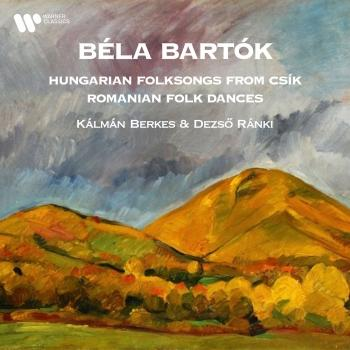 Cover Bartók: Hungarian Folksongs from Csík & Romanian Folk Dances (Arr. Székely for Clarinet and Piano)