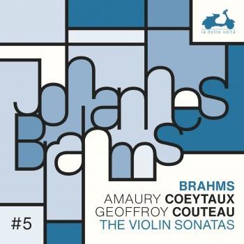 Cover Brahms: The Violin Sonatas