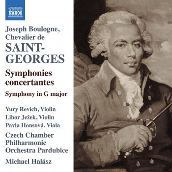 Cover Saint-Georges: Orchestral Works