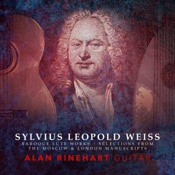 Cover Weiss: Works for Lute (Arr. A. Rinehart for Guitar)
