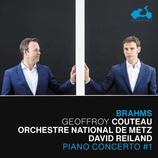 Cover Brahms: Piano Concerto No. 1 - Transcription for Piano Left Hand of Bach's Chaconne