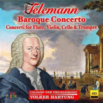 Cover Telemann: Baroque Concertos