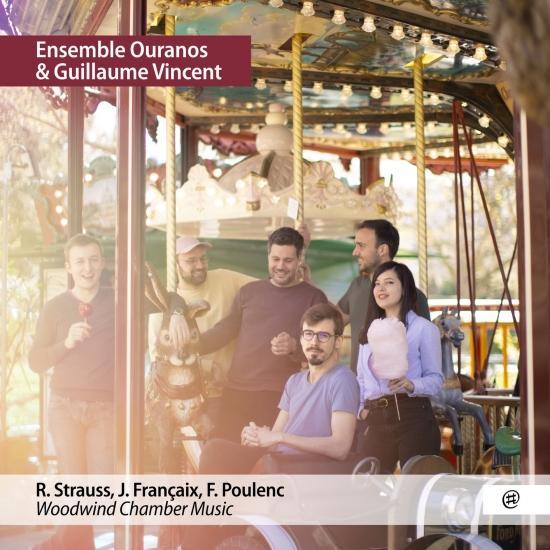 Cover Strauss, Françaix, Poulenc : Woodwind Chamber Music