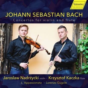 Cover J.S. Bach: Concertos for Violin & Flute