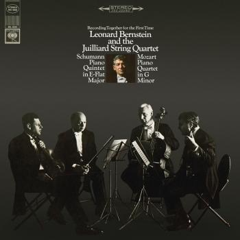 Cover Schumann: Piano Quintet in E-Flat Major, Op. 44 - Mozart: Piano Quartet No. 1 in G Minor, K. 478 (Remastered)