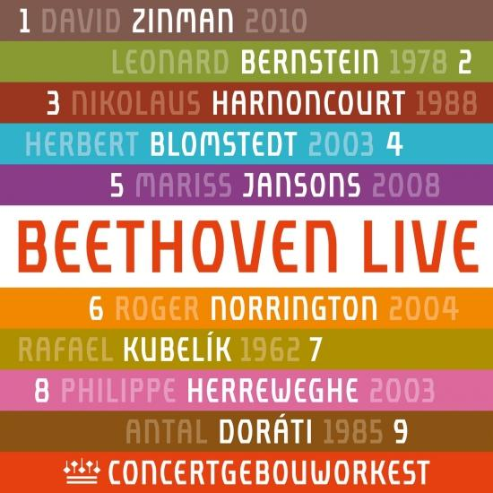 Cover Beethoven: Symphonies Nos 1-9