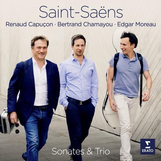 Cover Saint-Saëns: Violin Sonata No. 1, Cello Sonata No. 1 & Piano Trio No. 2