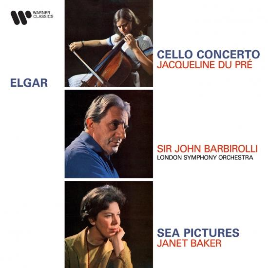 Cover Elgar: Cello Concerto, Op. 85 & Sea Pictures, Op. 37 (Remastered)