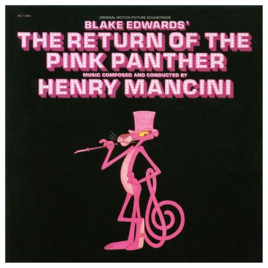 Cover The Return of the Pink Panther (The Original Sound Track Recording)
