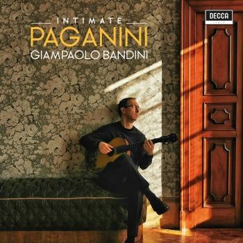 Cover Paganini: Intimate Guitar