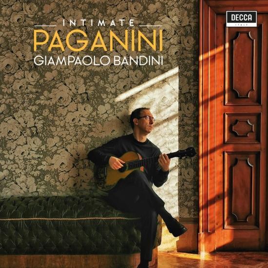 Cover Paganini: Intimate Guitar