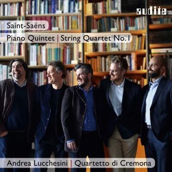 Cover Saint-Saëns: Piano Quintet & String Quartet No. 1