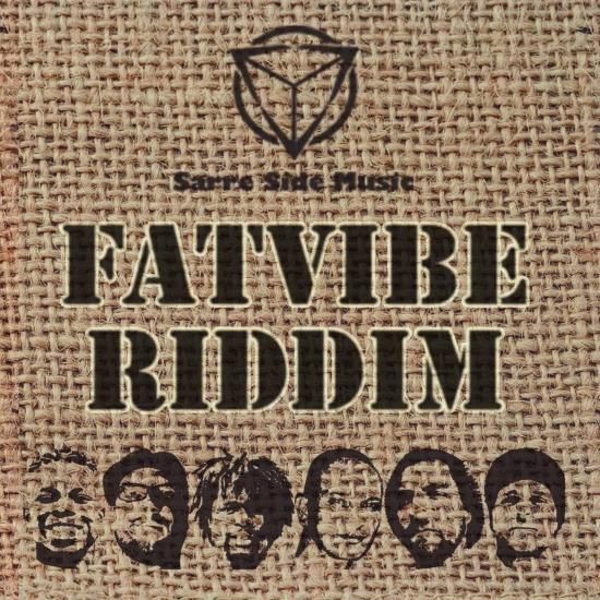 Cover FAT VIBE Riddim Compilation