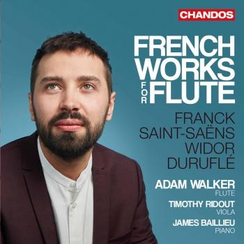 Cover French Works for Flute