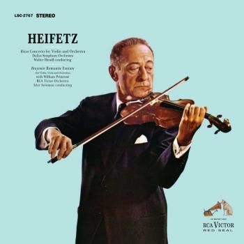 Cover Rosza: Violin Concerto / Benjamin: Romantic Fantasy (Remastered)