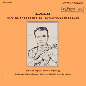 Cover Lalo: Symphonie Espagnole (Remaster)