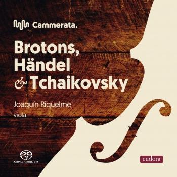 Cover Brotona, Handel, Tchaikovsky