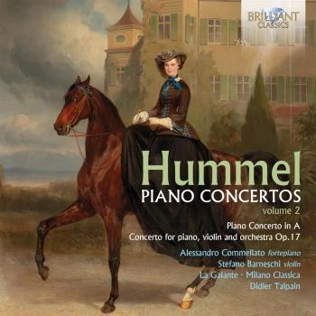 Cover Hummel: Piano Concertos, Vol. 2