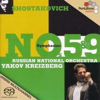 Cover Shostakovich: Symphonies Nos. 5 and 9