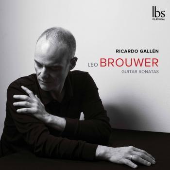 Cover Leo Brouwer: Guitar Sonatas