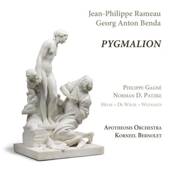 Cover Rameau & Benda: Pygmalion