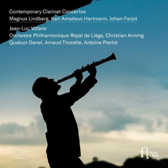Cover Contemporary Clarinet Concertos