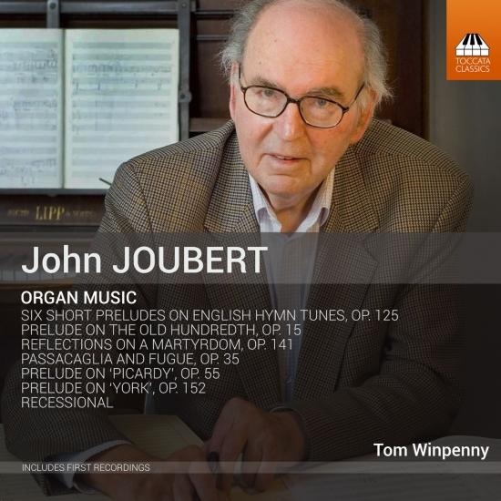 Cover John Joubert: Organ Music