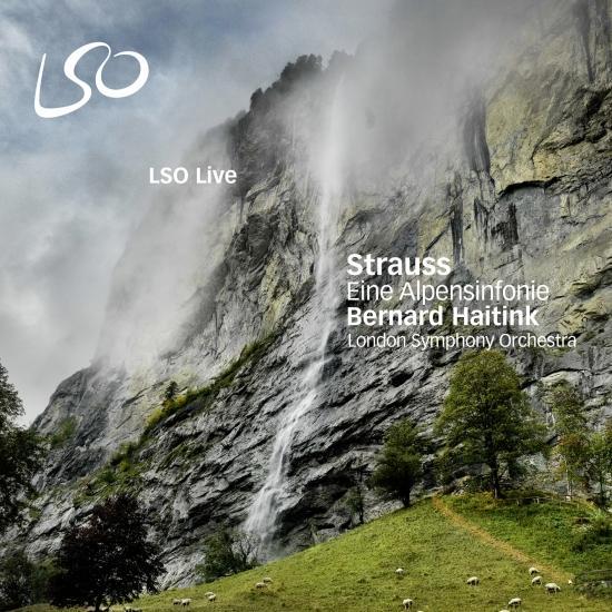 Cover Strauss: Eine Alpensinfonie