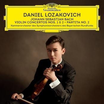Cover J.S. Bach: Violin Concertos Nos. 1 & 2; Partita No. 2