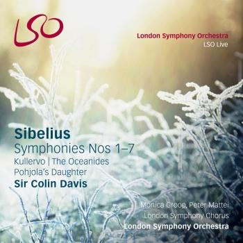 Cover Sibelius: Symphonies Nos. 1-7, Kullervo, Pohjola's Daughter, The Oceanides