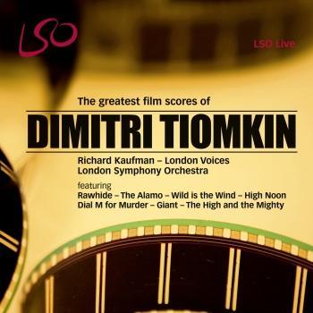 Cover Dimitri Tiomkin: The Greatest Film Scores
