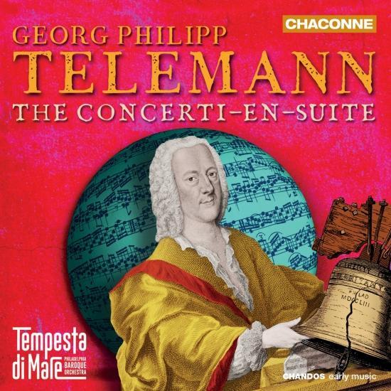 Cover Telemann: The Concerti-en-suite