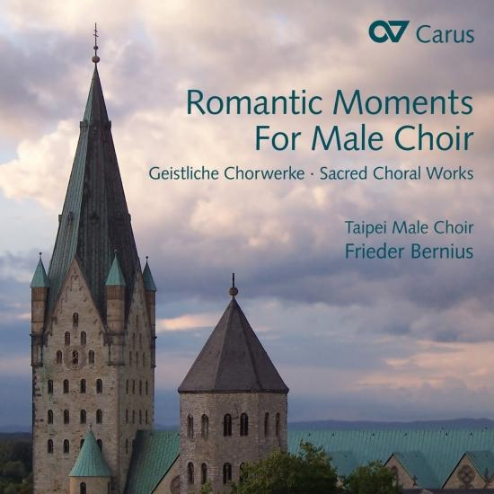 Cover Romantic Moments for Male Choir