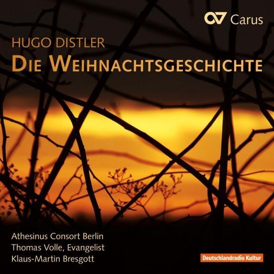 Cover Distler: Die Weihnachtsgeschichte, Op. 10