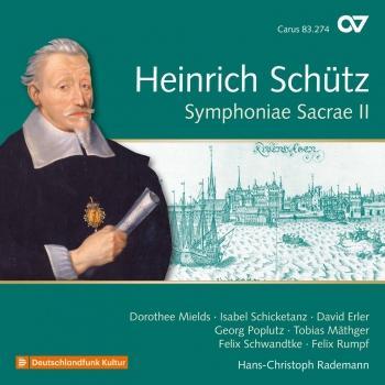 Cover Schütz: Symphoniae sacrae II, Op. 10