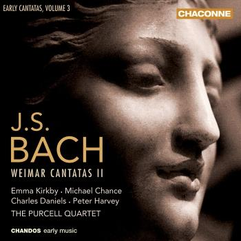 Cover J.S. Bach - Early Cantatas Volume 3 - Weimar Cantatas II