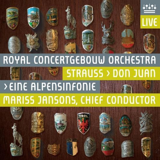 Cover Strauss: Don Juan, Op. 20 & Eine Alpensinfonie (An Alpine Symphony), Op. 64 [Live]