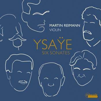 Cover Ysaÿe: 6 Sonatas for Solo Violin, Op. 27