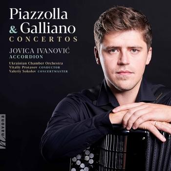 Cover Piazzolla & Galliano: Concertos
