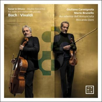 Cover Bach & Vivaldi: Sonar in ottava. Double Concertos for Violin and Violoncello Piccolo