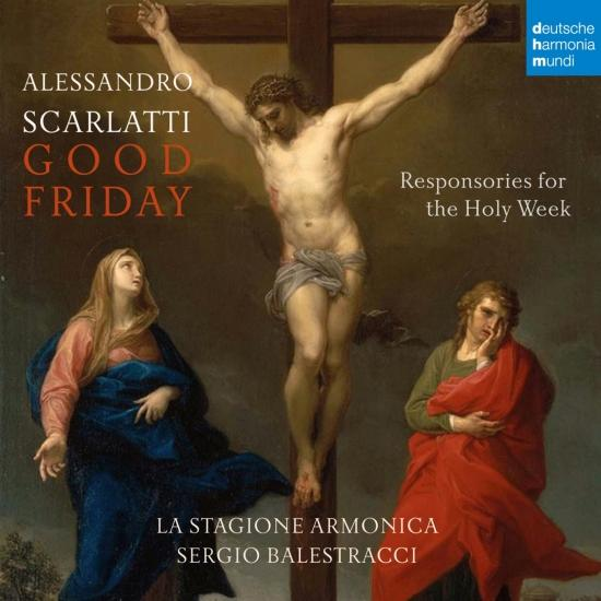 Cover A. Scarlatti: Responsories for the Holy Week: Good Friday